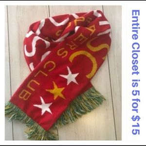 U.S. Soccer Supporters Club 2010 Knit Scarf